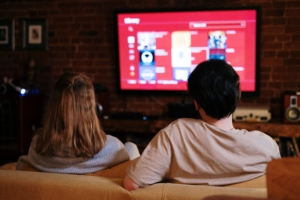 Consumers have resorted to entertainment at home.
