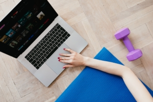 Workouts at home and online